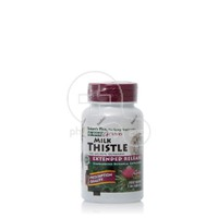 NATURE'S PLUS - HERBAL ACTIVES Milk Thistle Extended Release 500mg - 30tabs