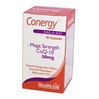 HEALTH AID CONERGY CoQ10 30MG 30CAPS