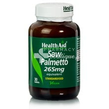 Health Aid SAW PALMETTO 265mg, 30tabs