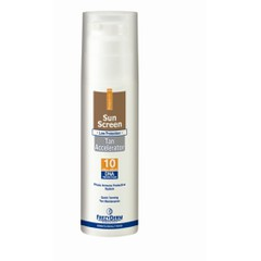 Frezyderm Sun Screen Tan Accelerator SPF10 150ml