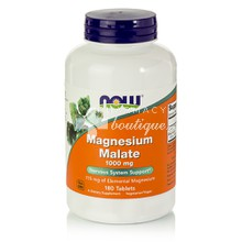 Now Magnesium Malate 1000mg - Μυς, 180 tabs