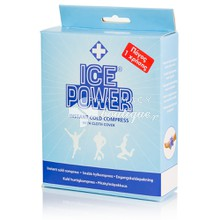 Ice Power Instant Cold Compress - Πάγος Μίας Χρήσης, 1τμχ