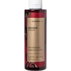 Korres Saffron Amber Shower Gel - Αφρόλουτρο, 250ml