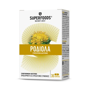 Superfoods rhodiola