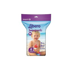 Libero Swimpants Medium (10-16kg) 6 pants