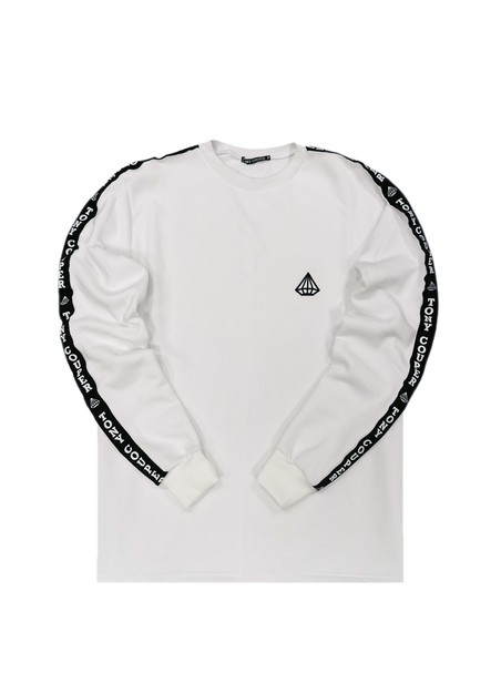 TONY COUPER WHITE GROSS CREW NECK