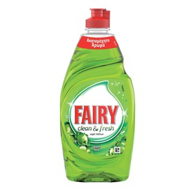 FAIRY ΥΓΡΟ ΠΙΑΤΩΝ CLEAN&FRESH APPLE 400ml