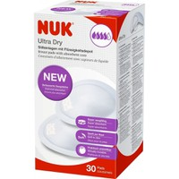 NUK ULTRA DRY BREAST PADS 30 PIECES