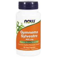 NOW GYMNEMA SYLVESTRE 400 MG, 90 VEG. CAPS