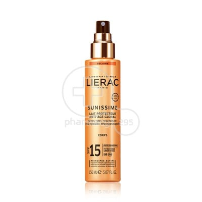 LIERAC - SUNISSIME Lait Protecteur Anti-Age Global SPF15 - 150ml