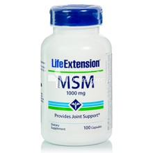 Life Extension MSM 1000mg - Αρθρώσεις, 100caps