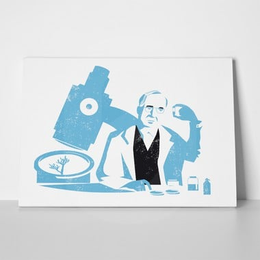 Alexander fleming illustration 739773265 a