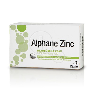 BIORGA - Alphane Zinc 15mg - 60caps