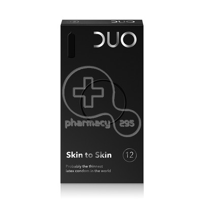 DUO - Προφυλακτικά Skin to Skin - 12τμx