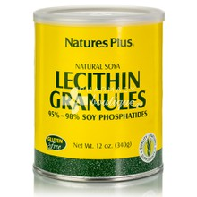 Natures Plus Lecithin Granules - Αδυνάτισμα, 340gr