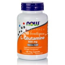 Now L-Glutamine 500mg, 120caps
