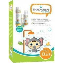 Pharmasept Kid Care Set Soft Hair Shampoo 300ml, X-Lice 100ml & Kid Soft Bath 40ml