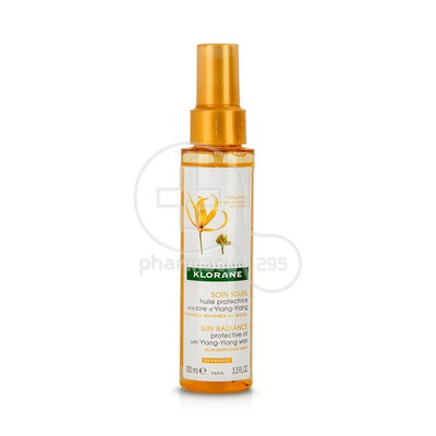 KLORANE - SOIN SOLEIL Huile Protectrice a la Cire d' Ylang-Ylang - 100ml