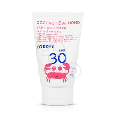 KORRES - Coconut & Almond Baby SPF30 - 100ml