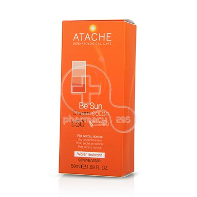 ATACHE - BE SUN Cream Color SPF50+ - 50ml