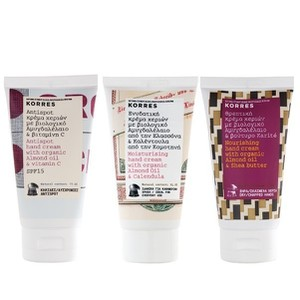 Korres hand cream mix