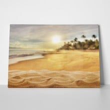 Exotic sandy beach 426308614 a