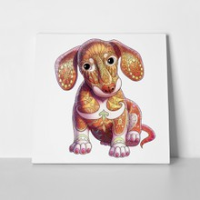 Dachshund puppy dog 657539446 a