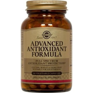 SOLGAR Advanced antoxidant formula 60vegetable cap