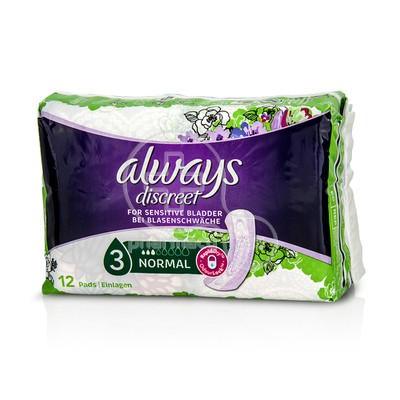 ALWAYS - Discreet Normal - 12τεμ.