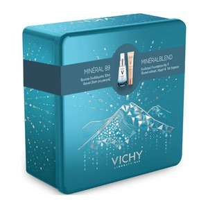 VICHY Πακέτο με Mineral 89 30ml & Mineral blend make-up N9 30ml