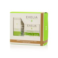 EXELIA - PROMO PACK 24h Hydrating Day Cream SPF15 for Oily Skin (50ml) ΜΕ ΔΩΡΟ Anti Dark Circles Eye Cream (30ml)