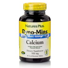 Natures Plus Dyno-Mins CALCIUM 500mg - Ασβέστιο, 90 tabs