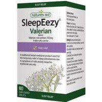 NATURES AID SLEEPEEZY 150MG (VALERIA) 60FILM COATED TABS