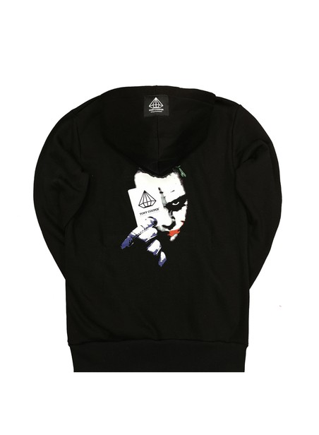 TONY COUPER BLACK JOCKER HOODIE
