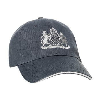 Grey Jockey Hat