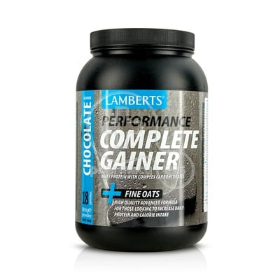 LAMBERTS - PERFORMANCE Complete Gainer + Fine Oats (Chocolate Flavour) - 1816gr