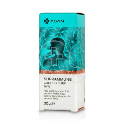 AGAN - SUPRAMMUNE - Cough Relief Spray - 30ml