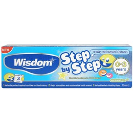 Wisdom Step by Step 0-3  75ml