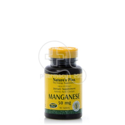 NATURE'S PLUS - Manganese 50mg - 90tabs