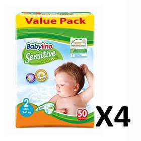 BABYLINO SENSITIVE MINI N2 3-6kg 200 (=4x50) ΤΕΜΑΧΙΑ