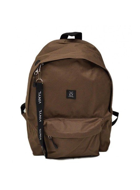 VINYL ART CLOTHING BROWN BACKPACK