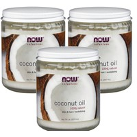 NOW COCONUT OIL, FOOD-GRADE 7 OZ (207 ML)