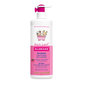Klorane petit junior gel douche framboise 500ml