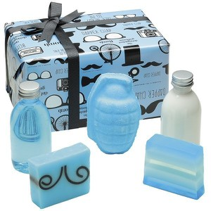 Bomb cosmetics distinguished gent gift pack