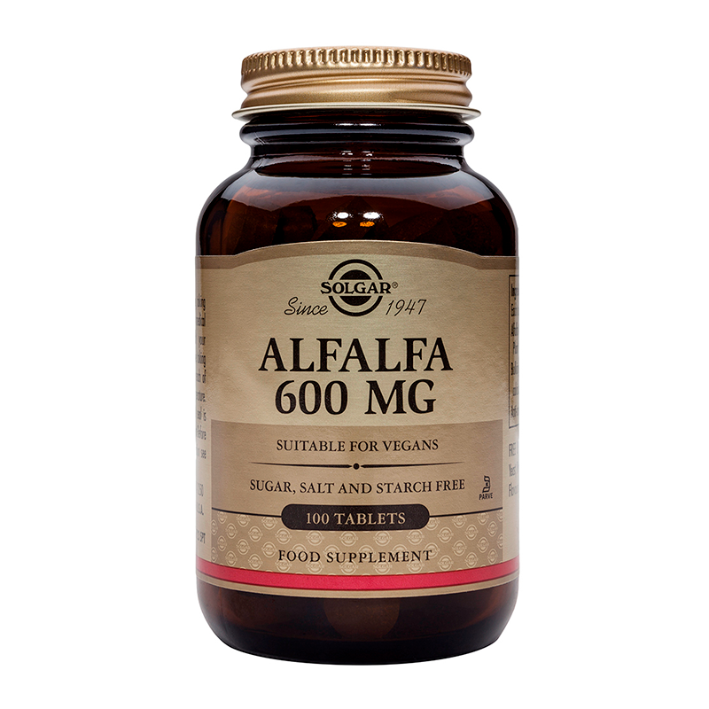 Alfalfa 600mg tablets