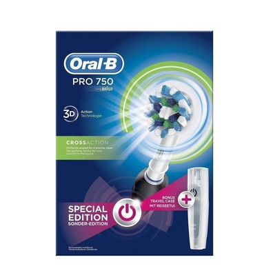 Oral b professional care 750 3d cross action special edition black enlarge