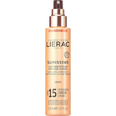 LIERAC LAIT PROTECT SPF15 CORPS