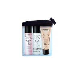 Galenic Travel Kit My Beauty Routine to Take Everywhere Pur Eau Micellaire Douceur 40ml +Aqua Infini Lotion De Soin 40ml +Eint Lumiere Dd SPF25 Perfection Beaute 15ml 1 picie