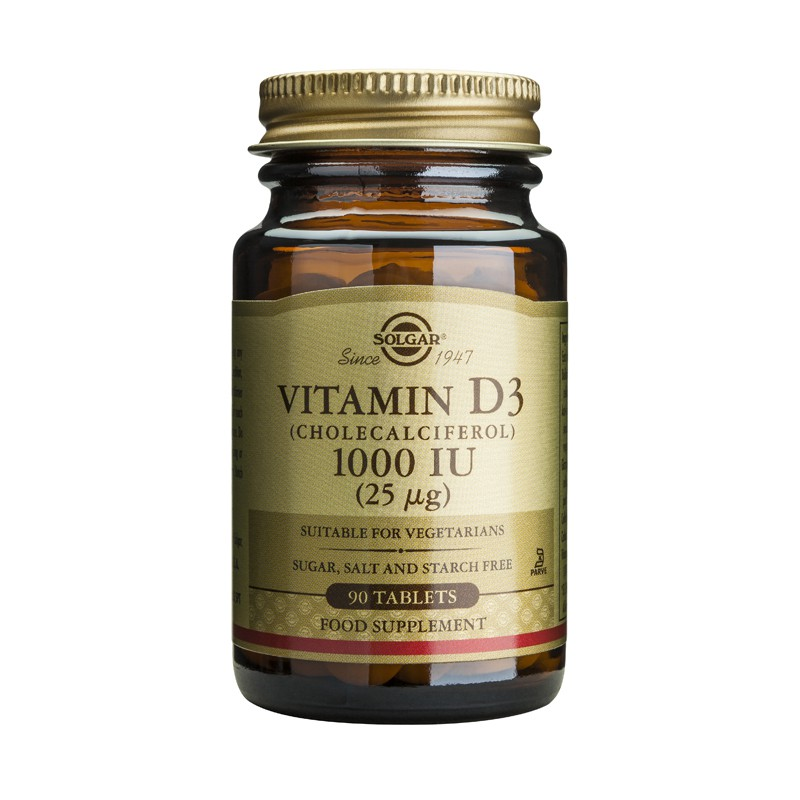 Vitamin D3 1000IU tablets
