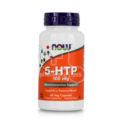 NOW - 5-HTP 100mg - 60caps